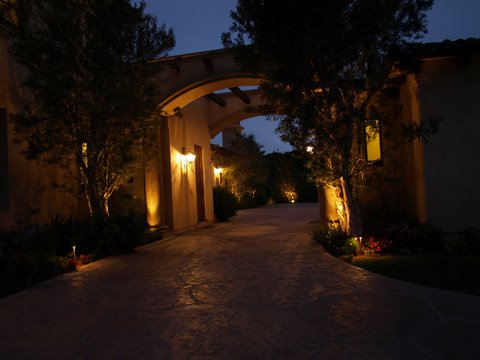 Lake Sherwood Outdoor Lighting Modern Outdoor  Lighting